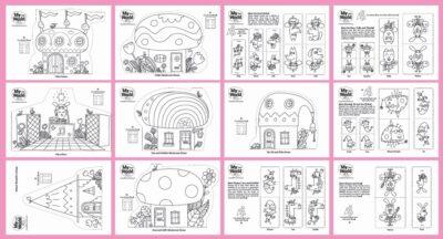 Fairy Village Cards
